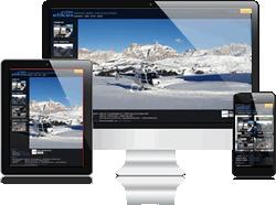 Webdesign in italien s dtirol hotelwerbung dolomiten for Design hotel dolomiten